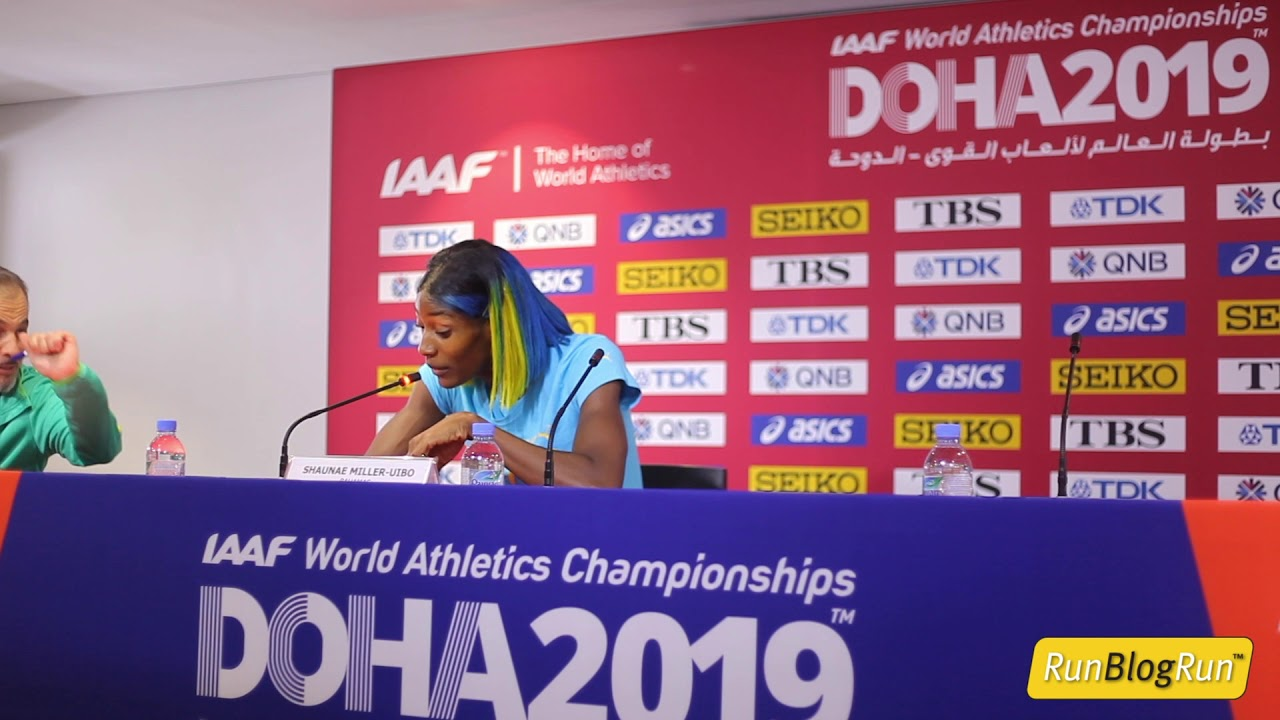 Doha WC 2019 - Women's 400m Final Press Conference