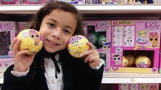 CAÇA ÀS L.OL.s: procurando L.O.L.s nas lojas - Gabriela Almeida