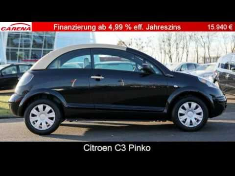 citroen c3 pluriel hdi 70 pinko youtube. Black Bedroom Furniture Sets. Home Design Ideas