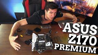 Asus Z170 Premium: полна коробочка