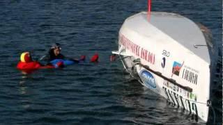 23 septembre 2011 - Jean-Jacques Gauthier - bateau retourné à la Trinité / Mer
