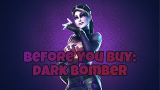 Dark Bomber Fortnite Skin and Thunder Crash | Before You Buy | In Game included |