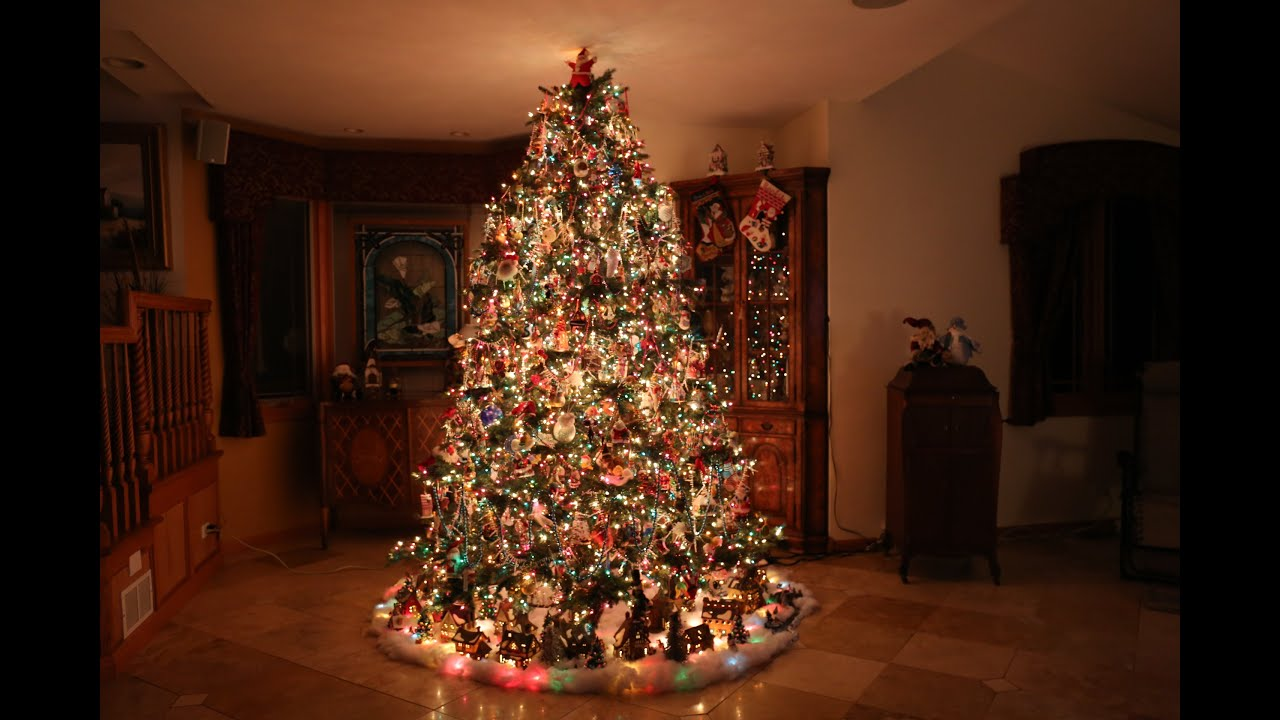 Building The Most Beautiful Christmas Tree Time Lapse Youtube