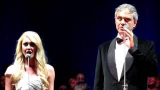 Andrea Bocelli & Camilla Kerslake - Canto della terra (live at O2 Arena, London)