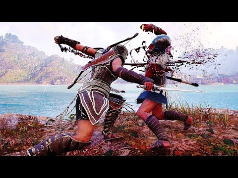 Assassin's Creed Odyssey Spear of Leonidas Rampage, Brutal Finishers & Cultist Takedown thumbnail