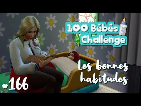 👶 Les bonnes habitudes ! | 100 Bébés Challenge - #166 - Les Sims 4
