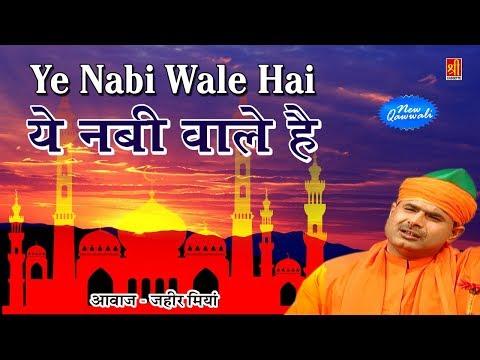 Ye Nabi Wale Hai (Zaheer Miyan Qawwal) | Chisti Rang | Muslim Hindi Qawwali Songs