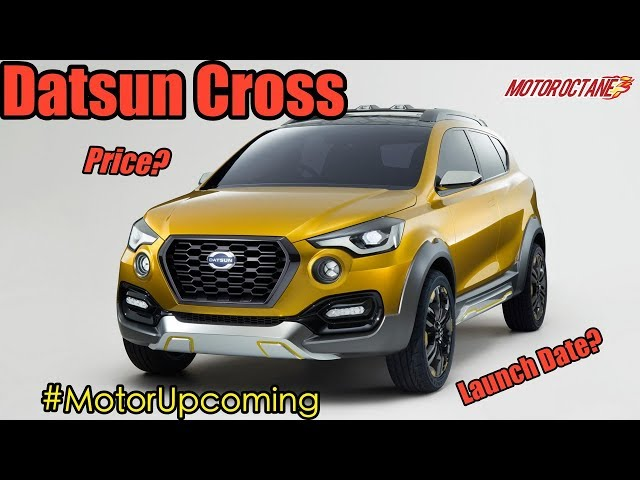 Datsun Go Cross Price Launch Features Images
