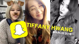 Download Girls' Generation (SNSD) Tiffany Snapchat Compilation (MARCH 2016) l @Soshified MP3 song and Music Video