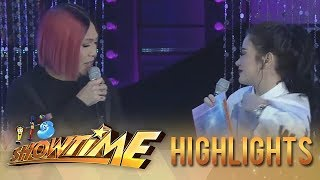 It's Showtime Miss Q & A: Vice notices Bela's clothes