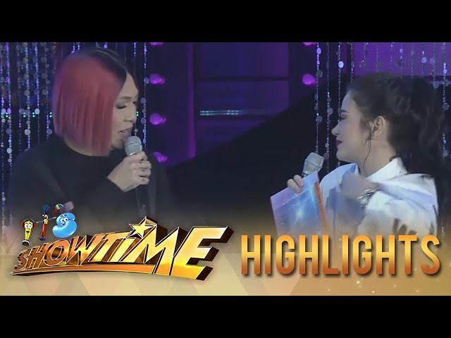 It's Showtime Miss Q & A: Vice notices Bela clothes