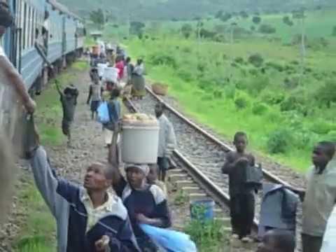 The TAZARA train ride (Tanzam) from Mbeya to Dar Es Salaam