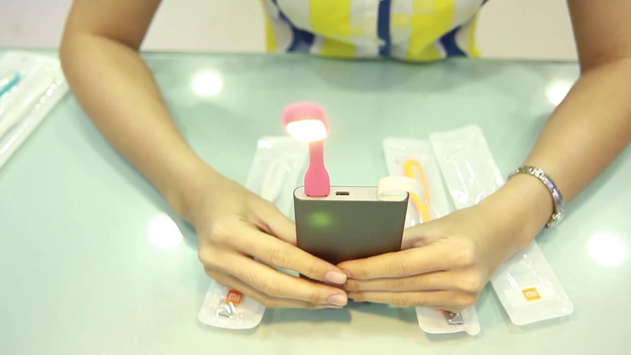 [Chiếm Tài Mobile] – Giới thiệu Đèn Led USB Xiaomi phiên bản 1 và 2
