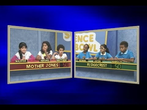 Science Bowl: Mother Jones vs Ridgecrest