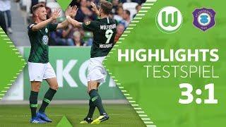 VfL Wolfsburg - Erzgebirge Aue | Highlights + Tore | Testspiel