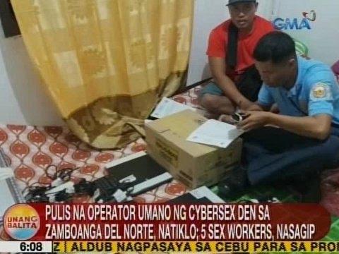 UB: Pulis sa operator ng cybersex den sa Zamboanga Del Norte, natiklo