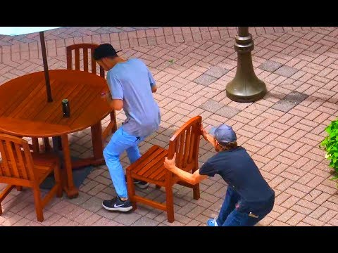 Thumbnail: Chair Pulling Prank Part 2