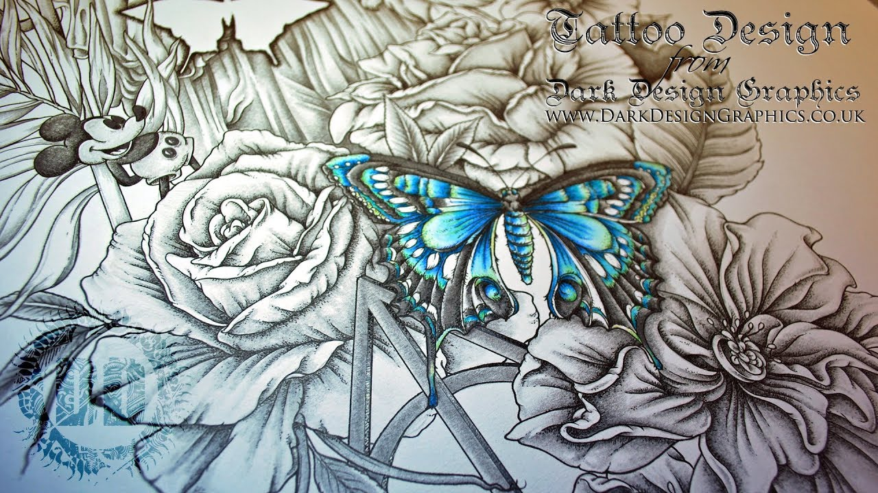 Full Sleeve Tattoo Design Athena Greek Goddess