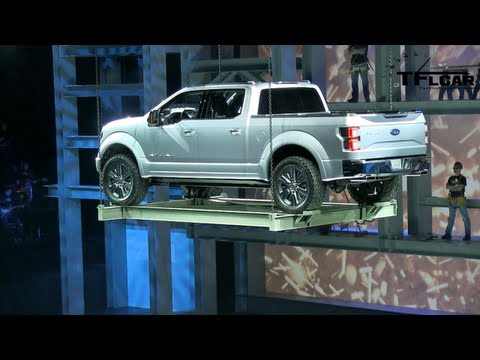 Ford CEO Alan Mulally talks about what's changing with the upcoming New Ford F-150 Pickup