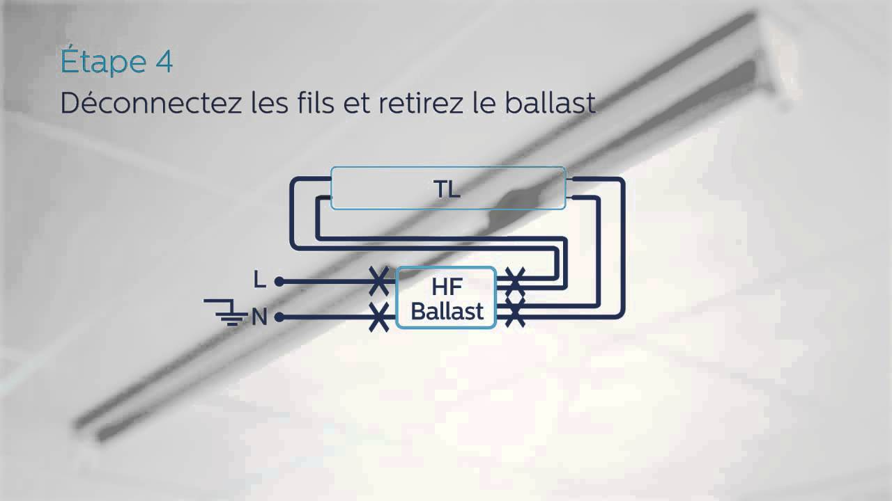 hight resolution of guide d installation pour philips master ledtube bas sur un ballast lectronique haute fr quence
