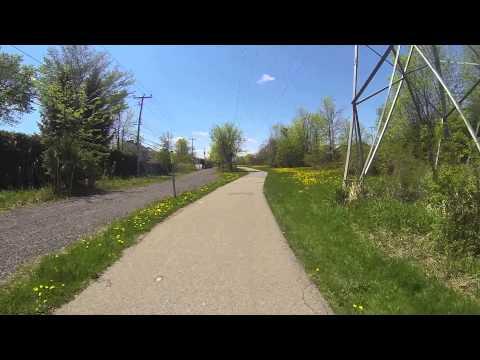 Bike ride in Kirkland Quebec