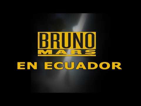 Concierto de BRUNO MARS en Ecuador Costo de Entradas Fechas Ciudades