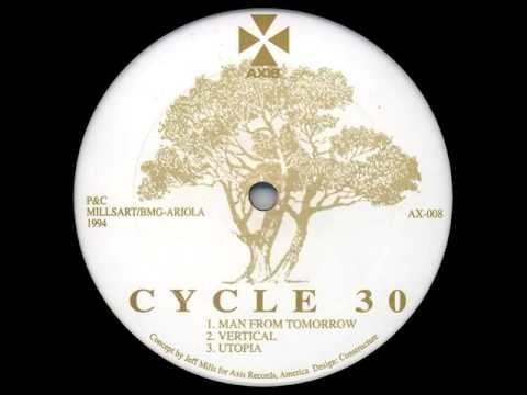 Jeff Mills - Untitled A4 - Cycle 30 EP - Axis – AX 008