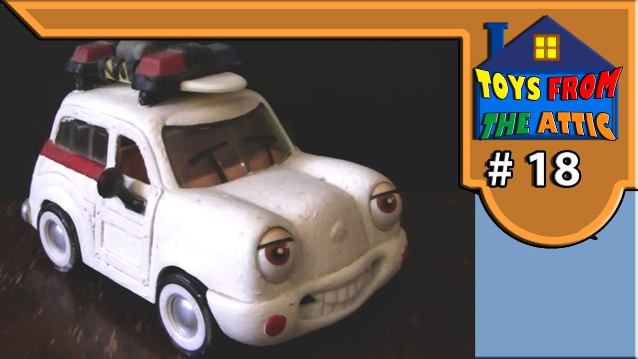 Toys From The Atick E18 Chevron Costume Ecto1 Youtube