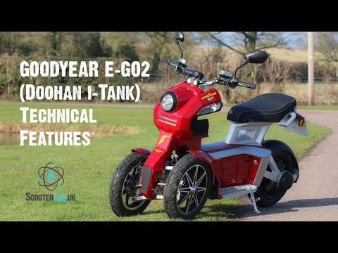 Đánh giá xe máy điện Doohan iTank
