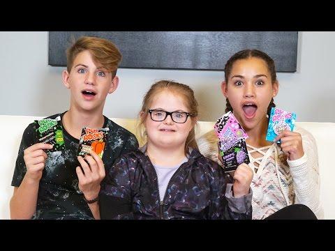 Pop Rocks Challenge (Sarah Grace, MattyBRaps, Gracie Haschak)