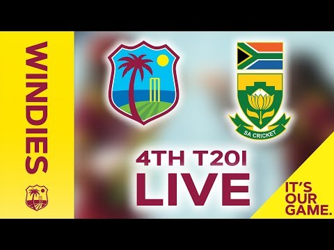 FULL MATCH  Windies Women v South Africa  4th T20I  4 October 2018