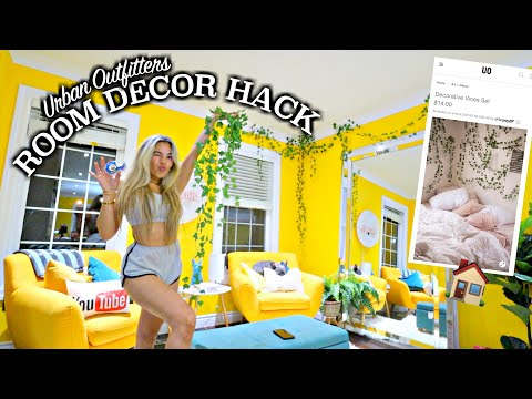 BOHO ROOM LIFE HACK! Cheap Urban Outfitters Home Decor Inspo from Amazon