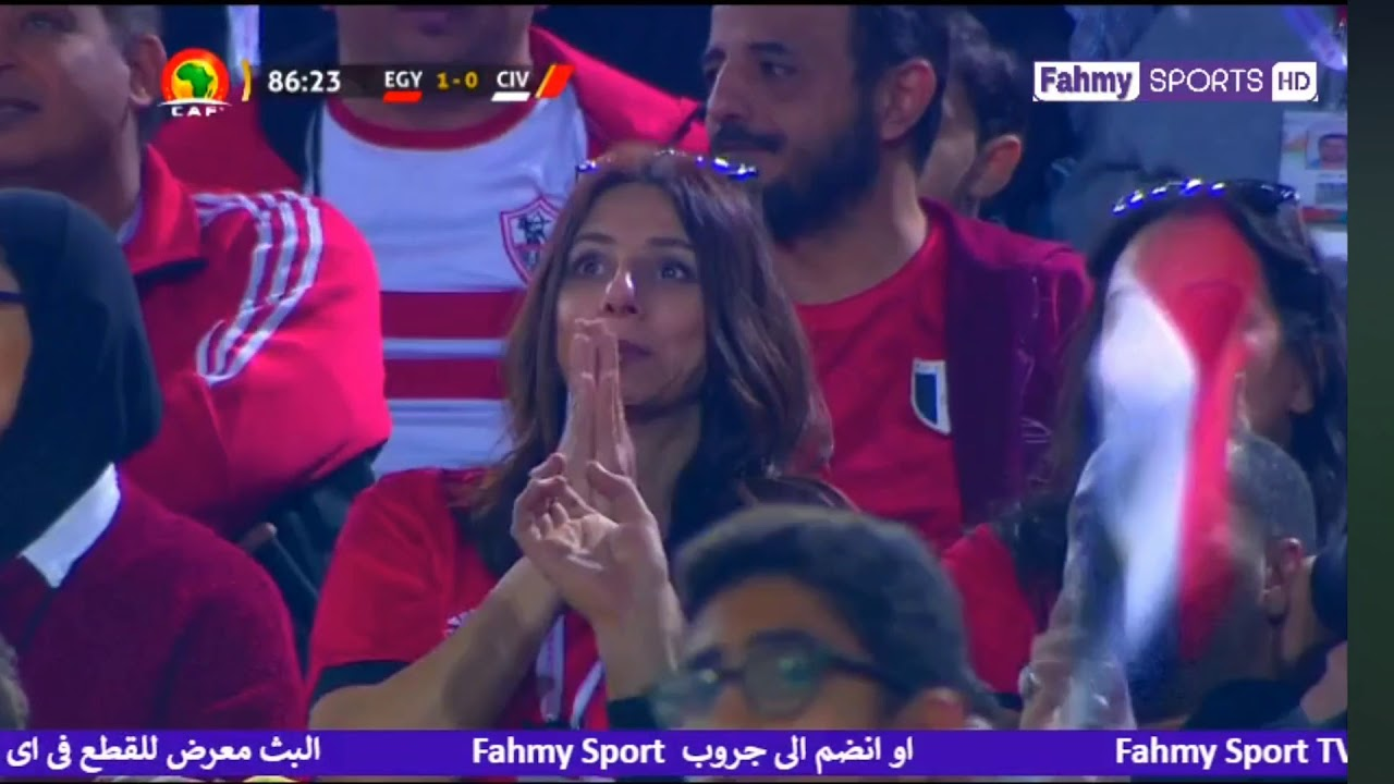 اخر ١٠ دقايق من ماتش مصر و كوتديفوار اوليمبي وهدف التعادل لكوتديفوار