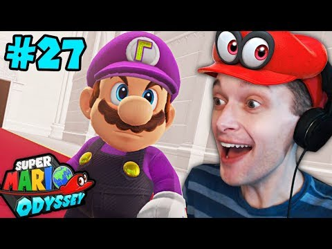 JOURNEY TO THE PAST - Super Mario Odyssey - Gameplay Part 27