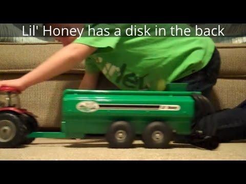 Toy liquid manure slurry tank, - VamosDotPK