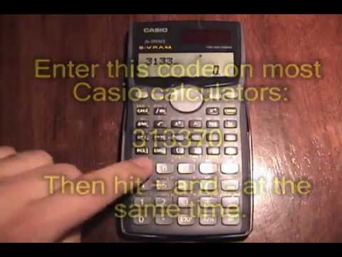Secret Game On Casio Calculators Youtube Flv Youtube