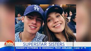 maddie and mackenzie on today extra