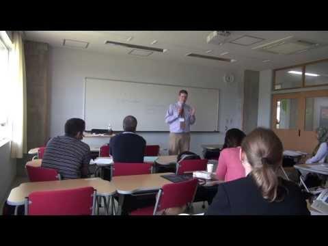 Textbook Design as a Teacher Training Tool (Niigata, Japan)