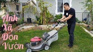 Dọn vườn đón mùa xuân về của người Việt ở Mỹ