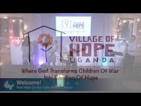 3/5/17(Sun 10 am)  Village of Hope Uganda. Come hear what God is doing.......