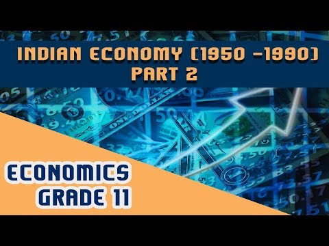 Chapter 2-  Indian Economy ( 1950 - 1990) --- Part 2
