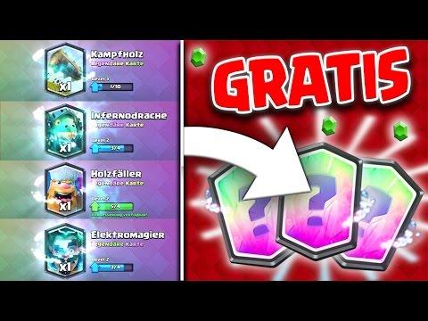 OMG! | 4 GRATIS LEGENDÄRE Karten in 1 Woche | Einfacher Legendarys bekommen | Clash Royale|Real elpi