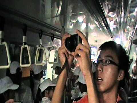 [Emergency Evacuation Ex.] SMRT C830 [829] journey from one-north → walk to Buona Vista