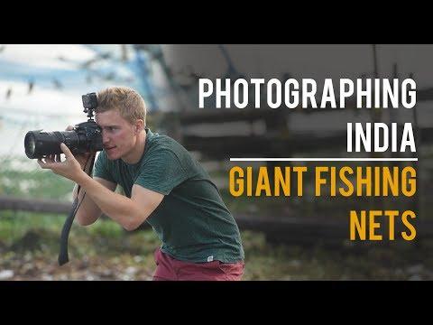 Travel Photography - Chinese Fishing Nets in Kochi, Kerala Part 1