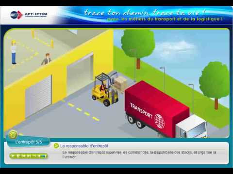 Cha ne transport logistique 3d aft iftim youtube for Salon transport et logistique