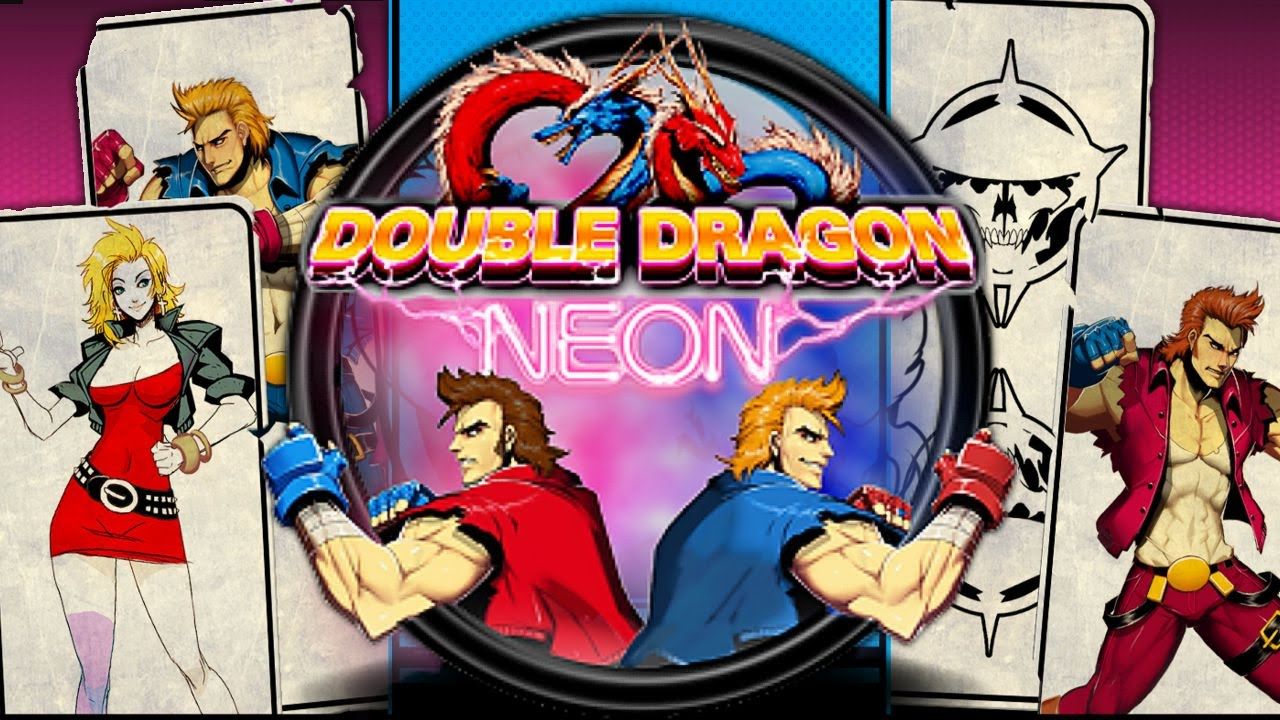 double dragon neon marian