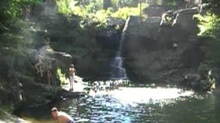 Devils Well Cliff Jumping