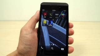 How to reorganize and uninstall apps on BlackBerry Z10