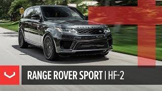 Vossen Hybrid Forged HF-2 Wheel | Range Rover Sport | Tinted Matte Gunmetal