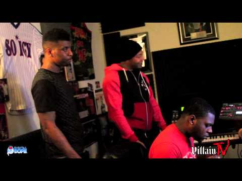 Yung LA and Young Thad Recording With Zaytoven